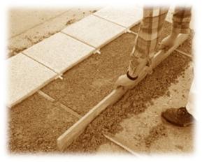 Pokládka do maltového či betonového lože